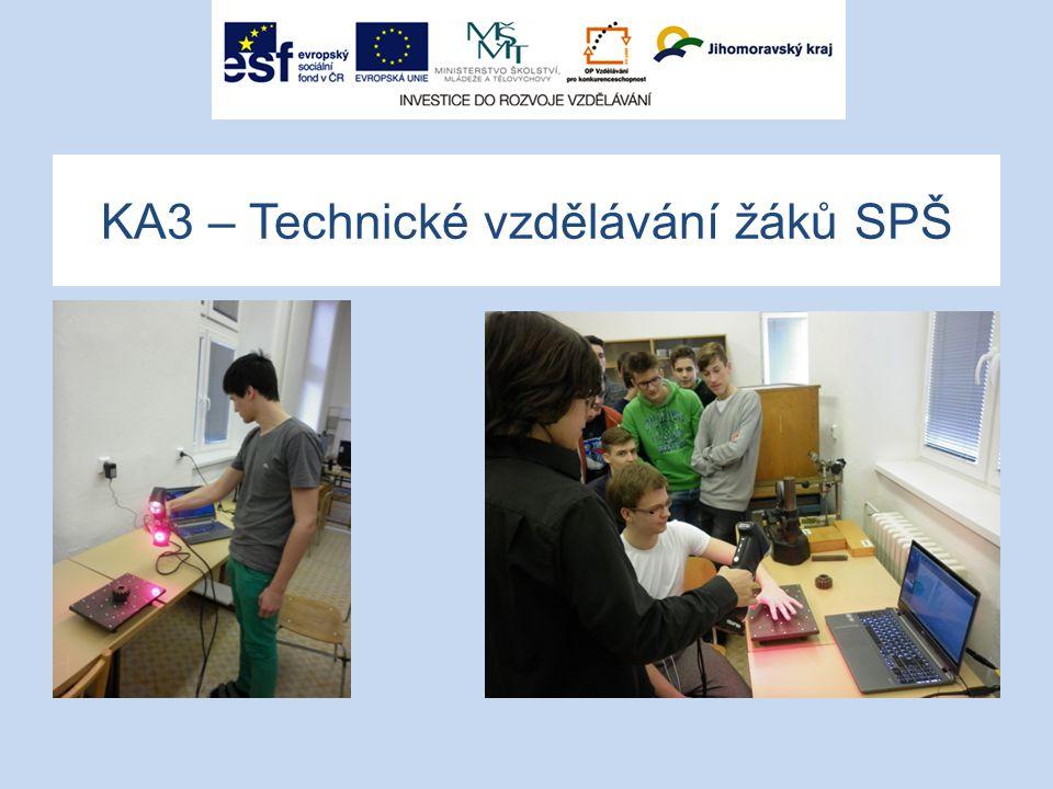 KA3 – Technické vzdělávání žáků SPŠ