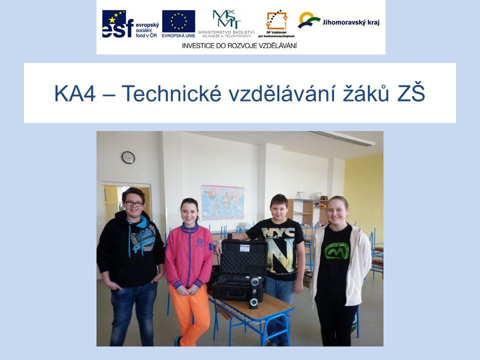 KA4 – Technické vzdělávání žáků ZŠ