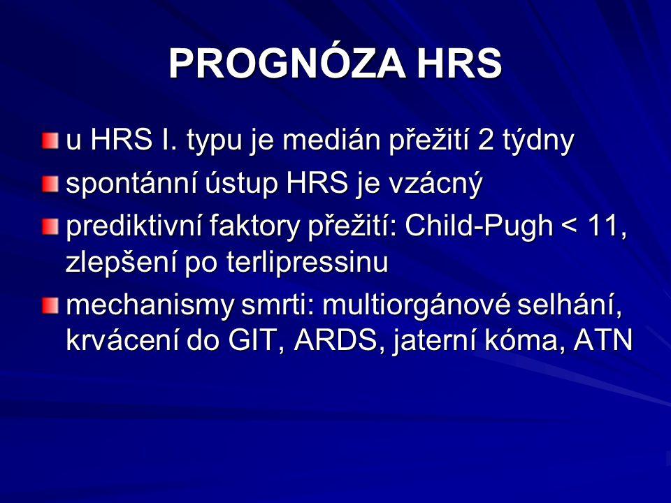 PROGNÓZA HRS u HRS I.