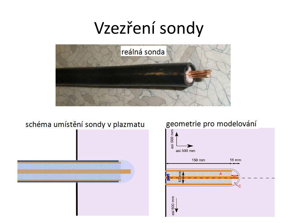 Variace parametrů experimentu délka středního vodiče, tloušťka skla, dielektrikum