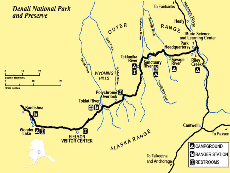 Řeka Nenana river