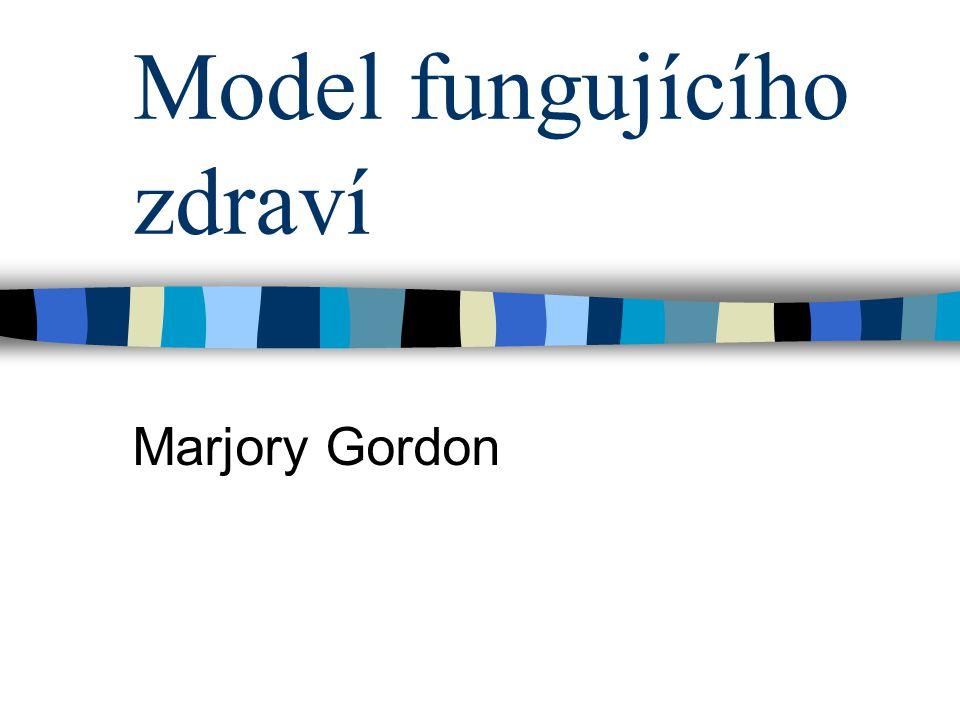 Model fungujícího zdraví Marjory Gordon