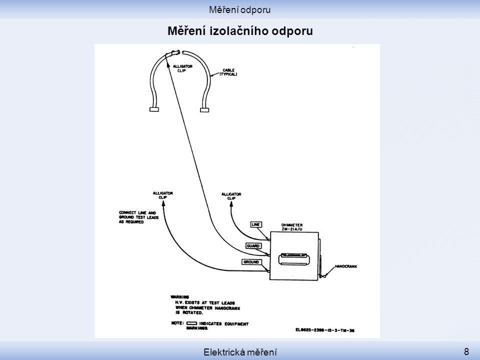 Měření odporu Elektrická měření 9 Multimeter tutorial https://www.youtube.com/watch?v=bF3OyQ3HwfU&feature=em-subs_digest-vrecs