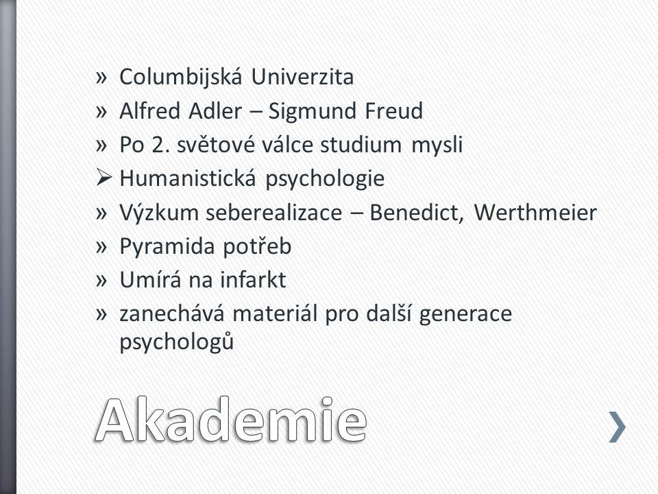 » Columbijská Univerzita » Alfred Adler – Sigmund Freud » Po 2.