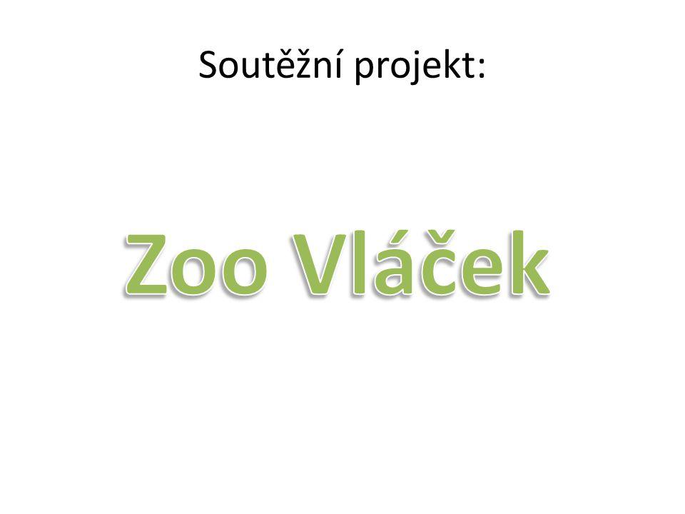 Inspirací pro náš projekt nám byl vláček v ZOO Ostrava.