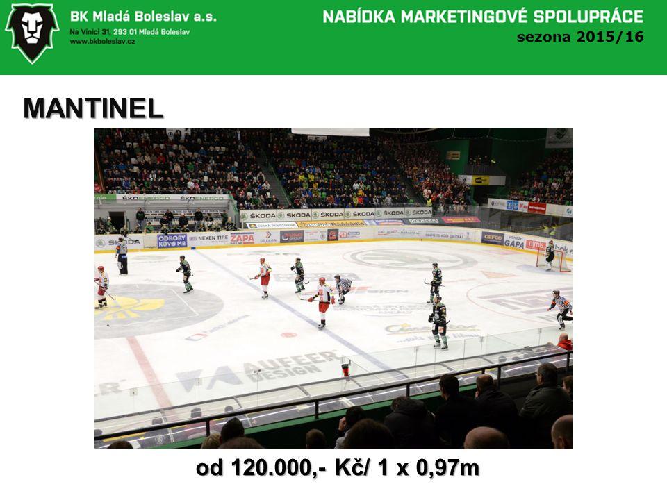 MANTINEL od 120.000,- Kč/ 1 x 0,97m