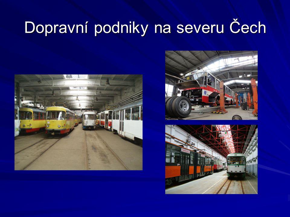 Dopravní podniky na severu Čech