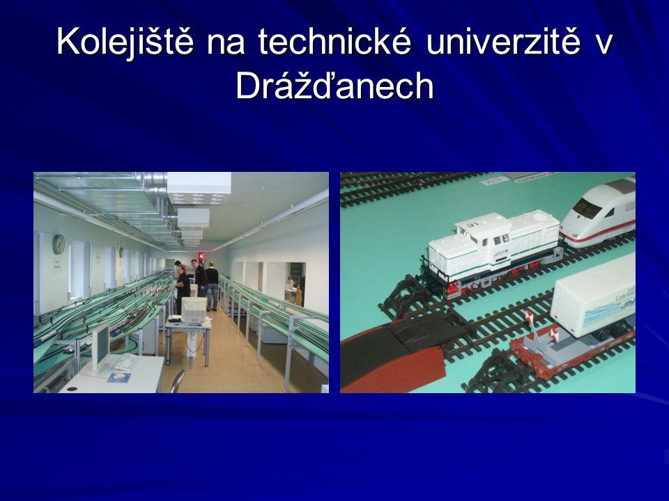 Kolejiště na technické univerzitě v Drážďanech