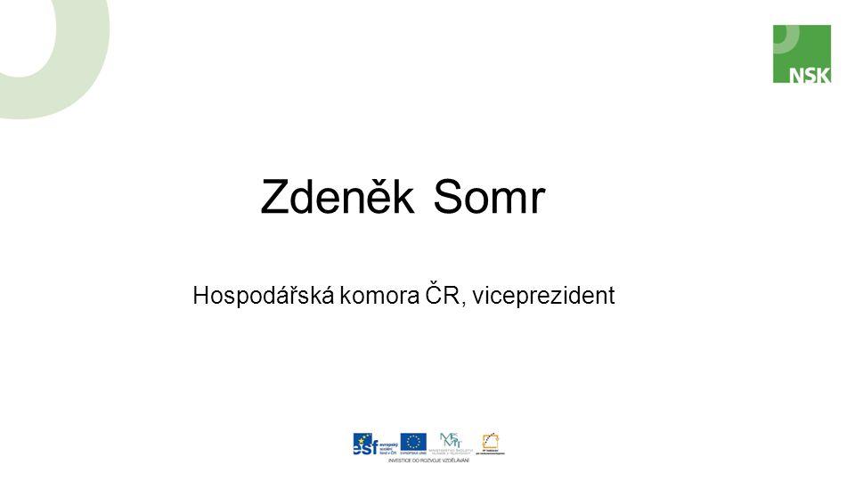 Zdeněk Somr Hospodářská komora ČR, viceprezident