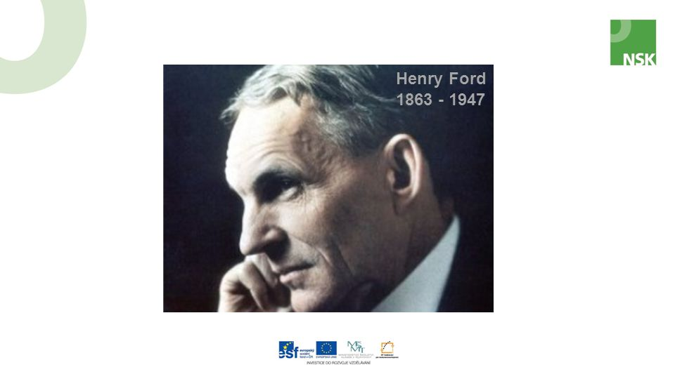 1863 - 1947 Henry Ford