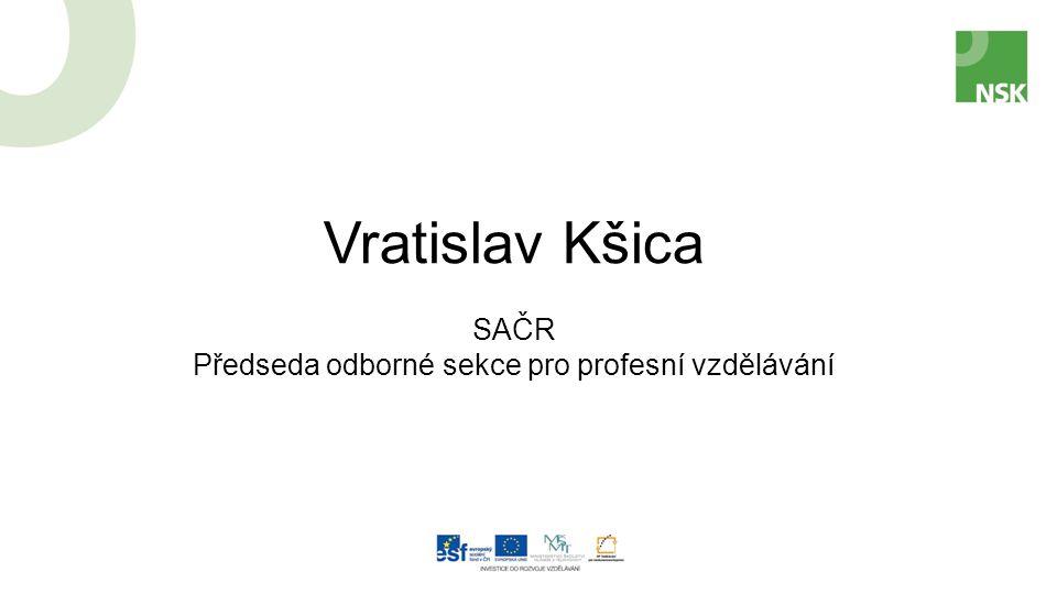 Vratislav Kšica SAČR Předseda odborné sekce pro profesní vzdělávání