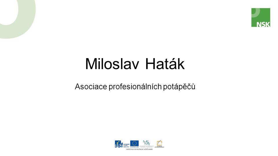 Miloslav Haták Asociace profesionálních potápěčů