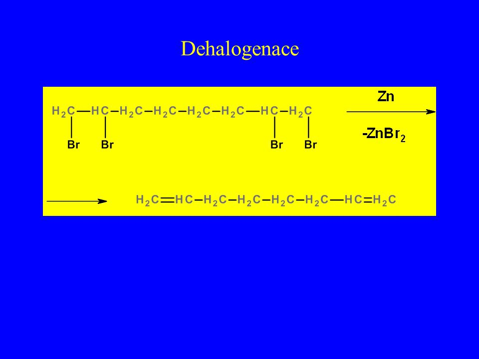 Dehalogenace