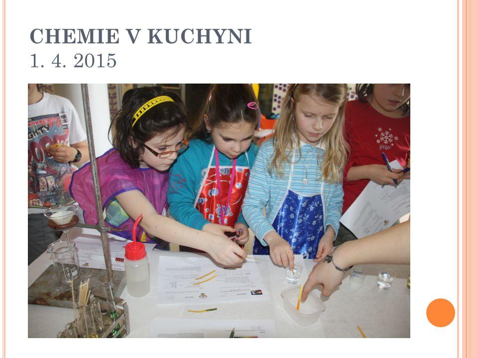 CHEMIE V KUCHYNI 1. 4. 2015