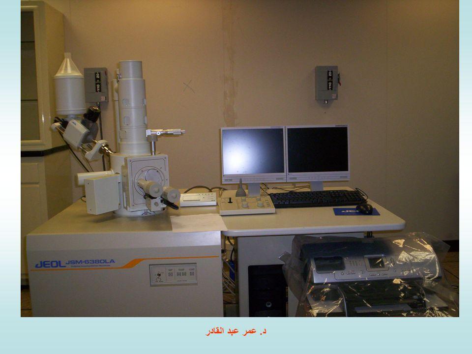 قدرة التبيين أو التمييز (( Resolving power للمجهر الماسح قدرة التبيين أو التمييز : هي اقصر مسافة بين جسمين متقاربين يمكن أن نراهما مفصولين عن بعضهما.