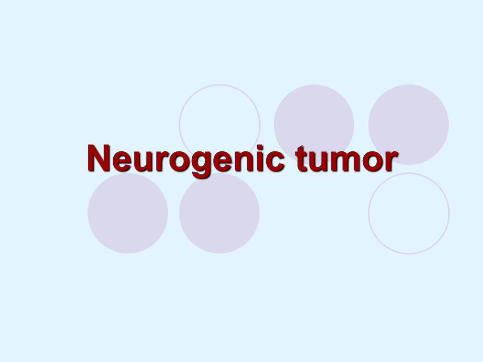 Neurogenic tumor