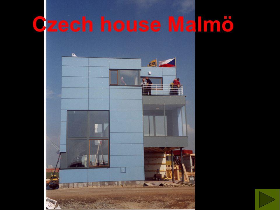 Czech house Malmö