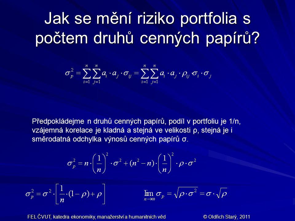 FEL ČVUT, katedra ekonomiky, manažerství a humanitních věd© Oldřich Starý, 2011OPCE Zatímco ohodnocení akcií firmy založené na očekávaném výnosu s ohledem na riziko modelem CAPM je absolutní, nyní se zaměříme na tzv.