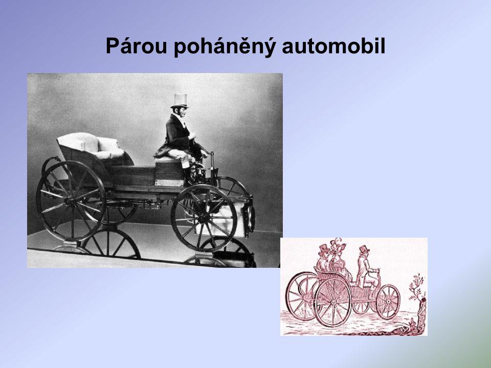 Párou poháněný automobil