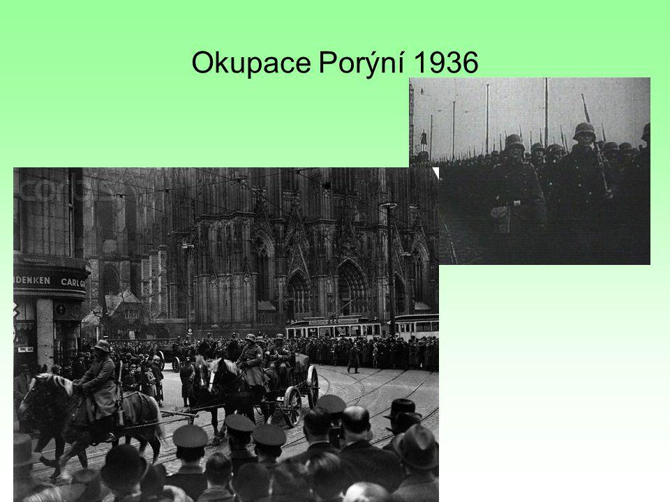 """Německo se začíná sbližovat s ostatními fašistickými státy ( Itálie, Japonsko, Maďarsko, Bulharsko) – vzniká """"osa Berlín- Řím-Tokio"""