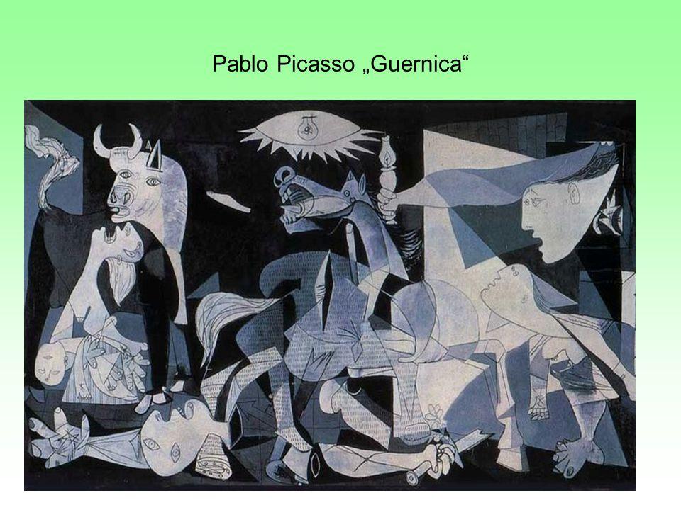 "Pablo Picasso ""Guernica"