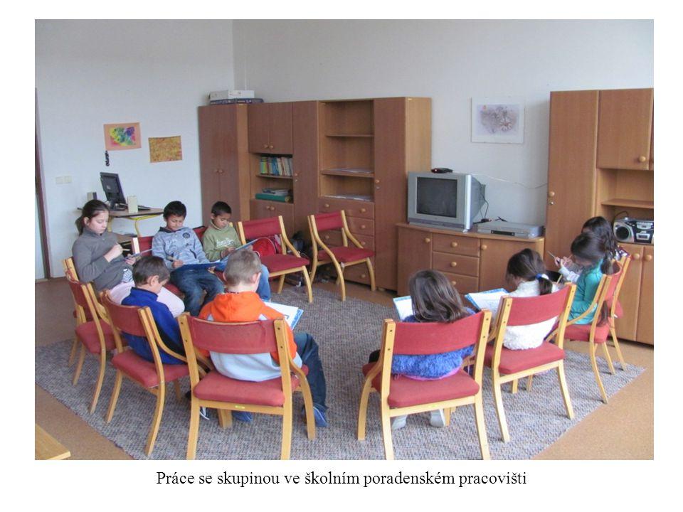 Práce se skupinou ve školním poradenském pracovišti