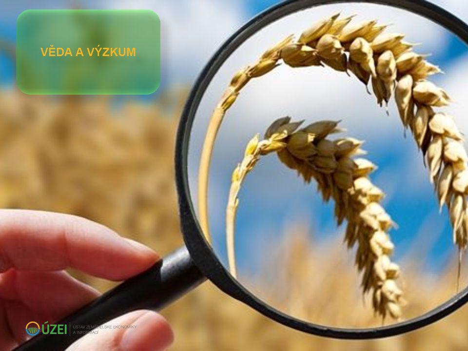  úsek je rezortním garantem rozvoje výzkumu oboru zemědělské ekonomiky a řeší:  úkoly pro podporu koncepčních činností a tvorbu opatření politik v gesci MZe  národní i mezinárodní projekty aplikovaného výzkumu v oblasti zemědělské ekonomiky VĚDA A VÝZKUM