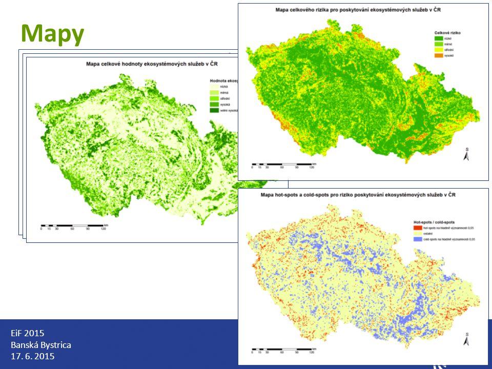 Mapy EiF 2015 Banská Bystrica 17. 6. 2015