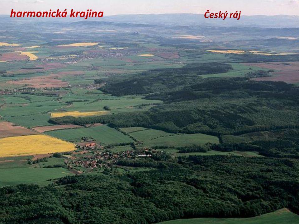 harmonická krajina Český ráj