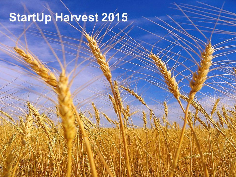 StartUp Harvest StartUp Harvest 2015