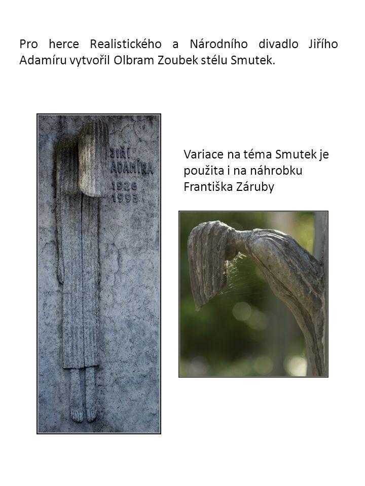 V roce 2002 byl na úpatí Petřína nainstalován pomník Pomník obětem komunismu, který autor vytvořil ve spolupráci s architekty Janem Kerelem a Zdeňkem Hölzelem.