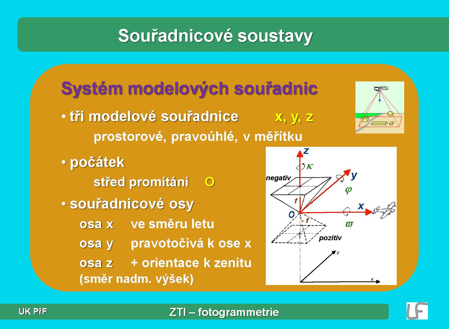 Úvod do fotogrammetrie J. Hodač – ZTI 11