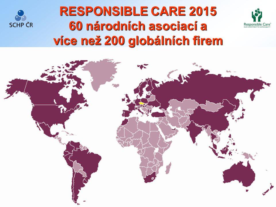 4 Seite 4 RESPONSIBLE CARE 2015 60 národních asociací a více než 200 globálních firem