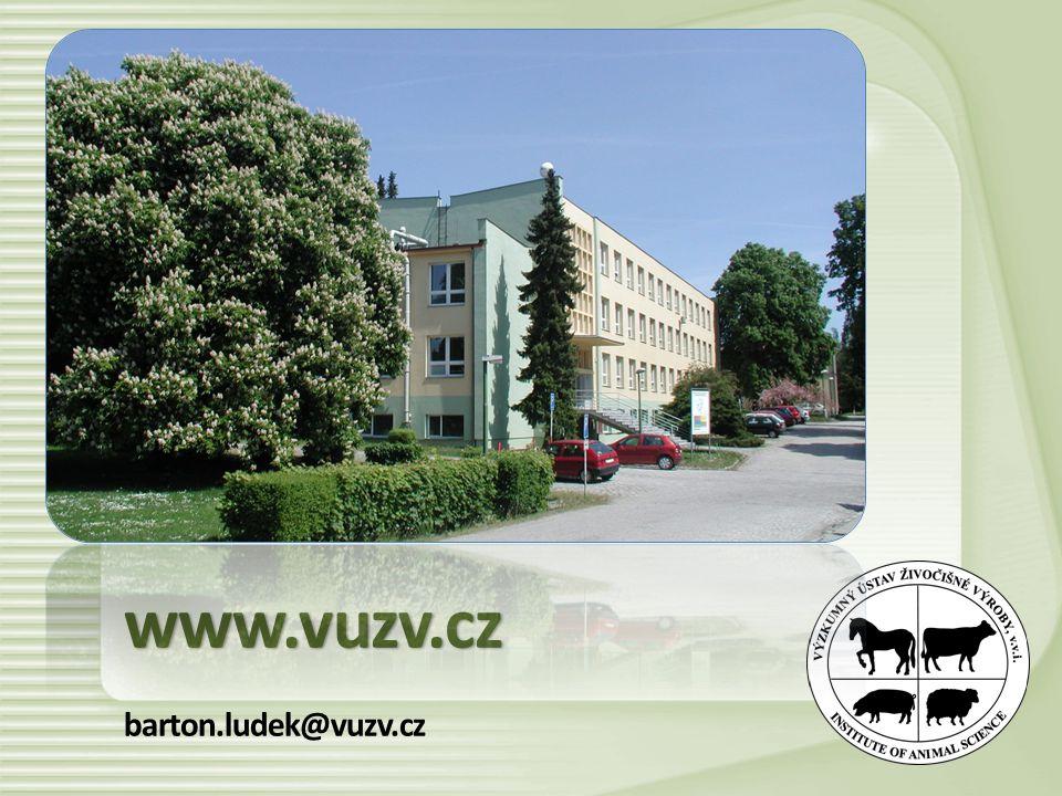 www.vuzv.cz barton.ludek@vuzv.cz