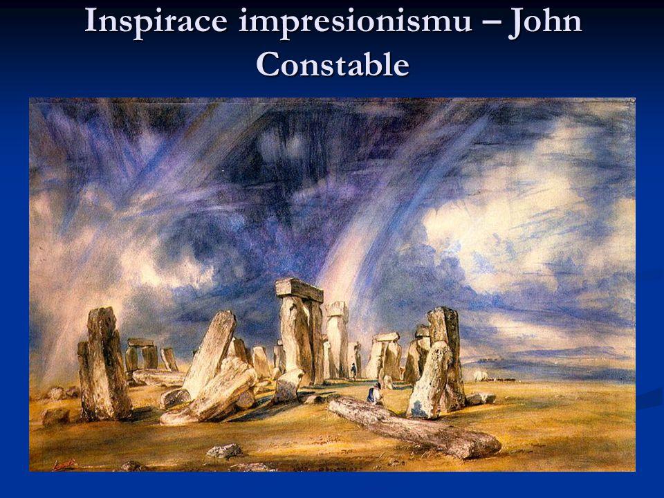 Inspirace impresionismu – John Constable