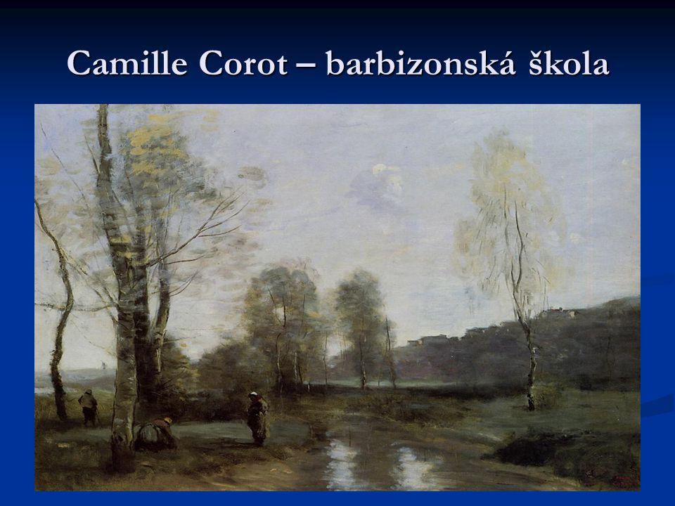 Camille Corot – barbizonská škola