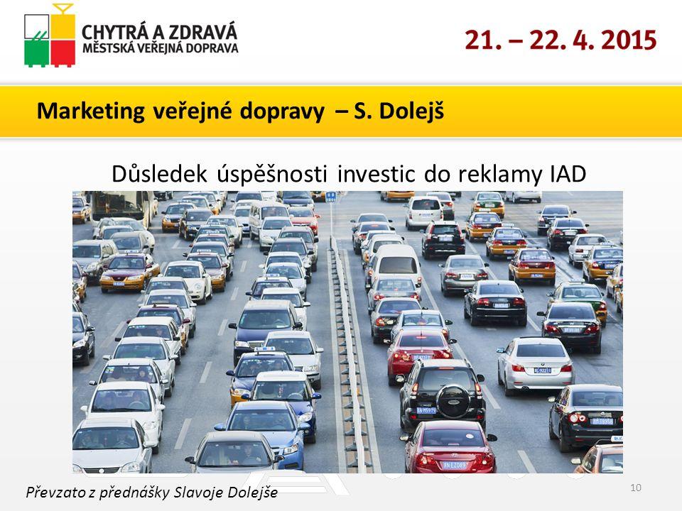 Marketing veřejné dopravy – S.
