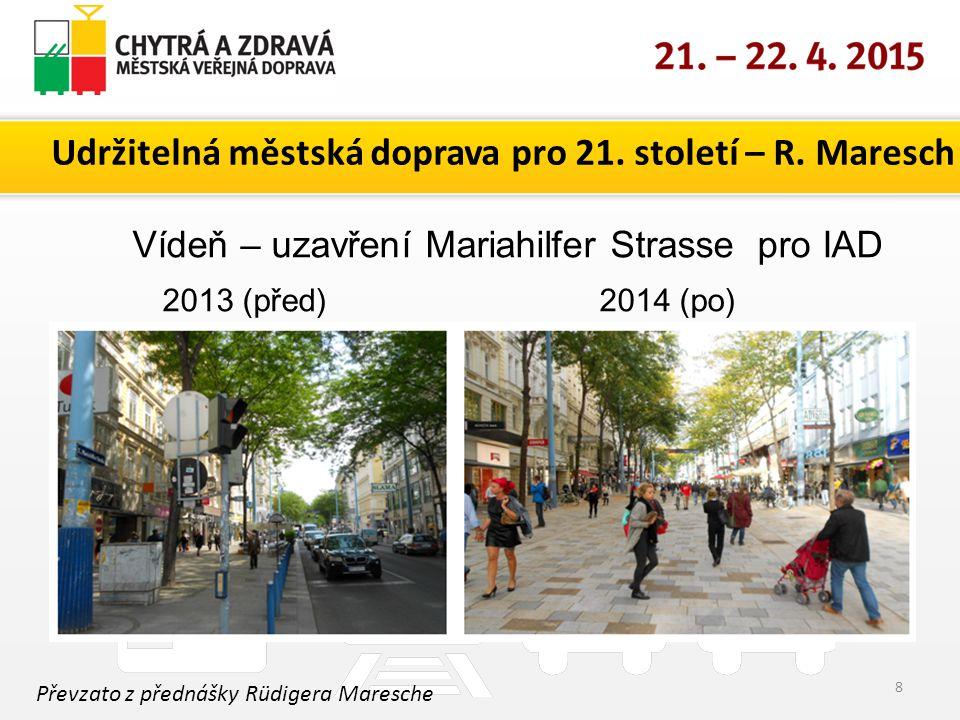Udržitelná městská doprava pro 21. století – R.