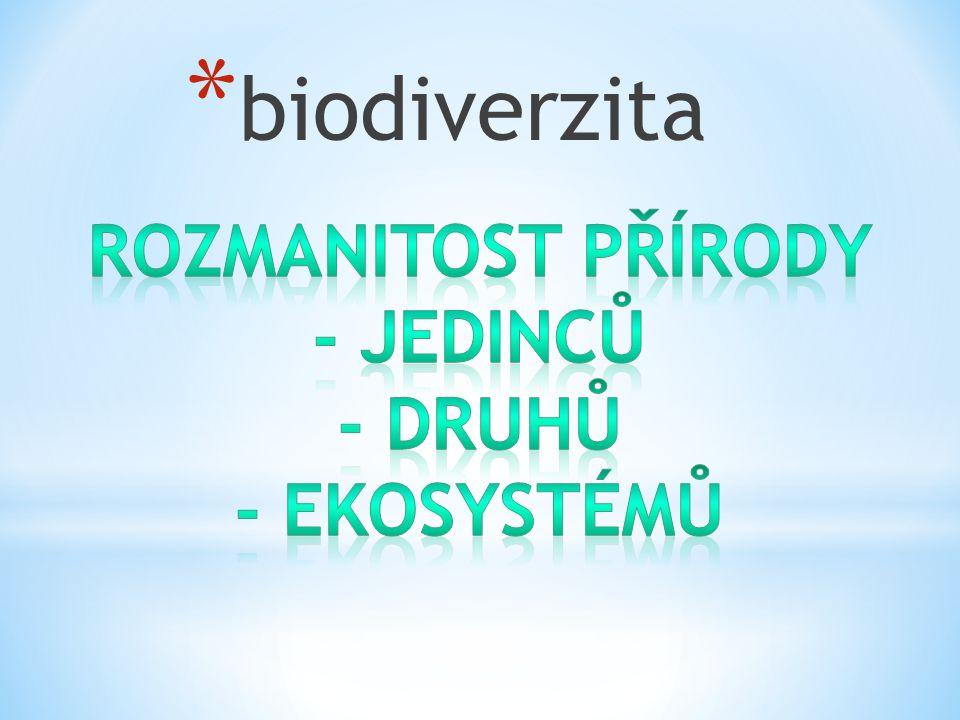 * biodiverzita