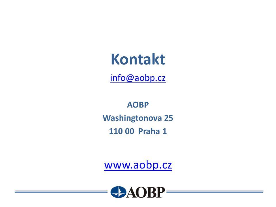 Kontakt info@aobp.cz AOBP Washingtonova 25 110 00 Praha 1 www.aobp.cz