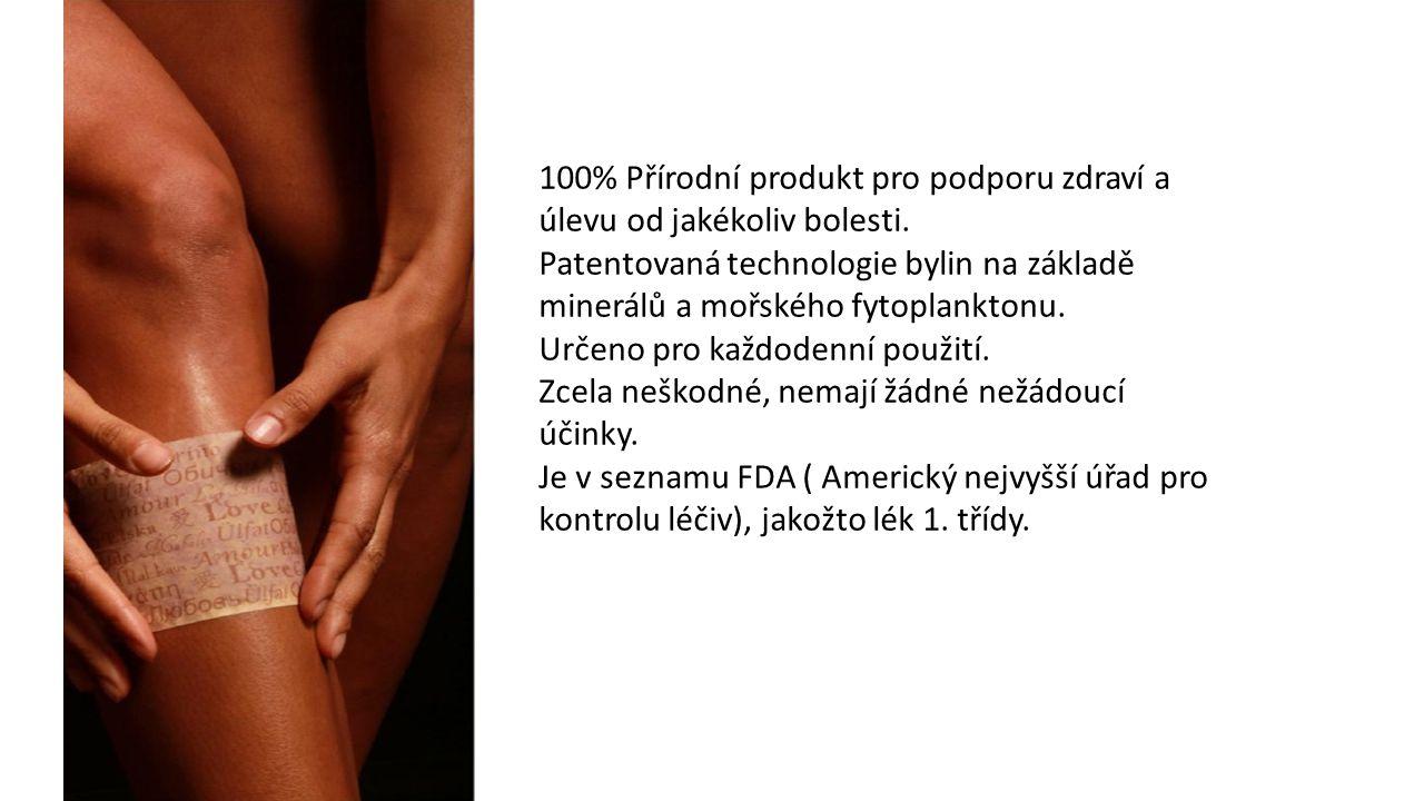100% Přírodní produkt pro podporu zdraví a úlevu od jakékoliv bolesti.