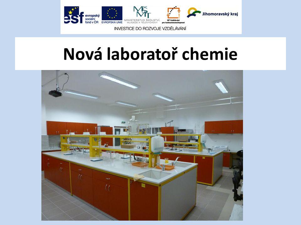 Nová laboratoř chemie