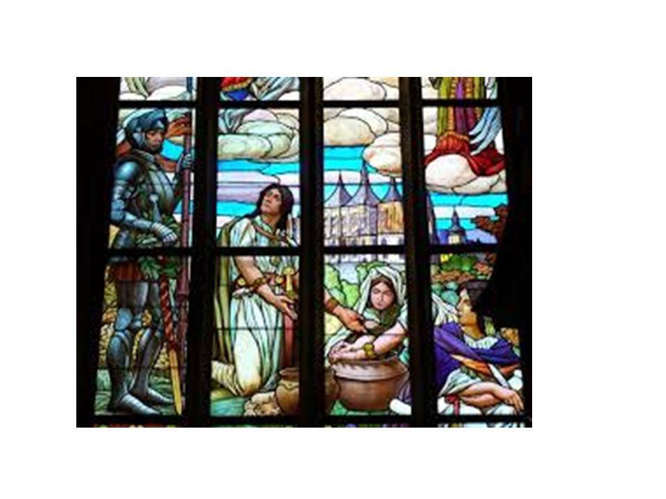 Pro barevnosti oken jsou použity jasné, zářivé barvy, které dávají oknům slavnostní a vznešený ráz.
