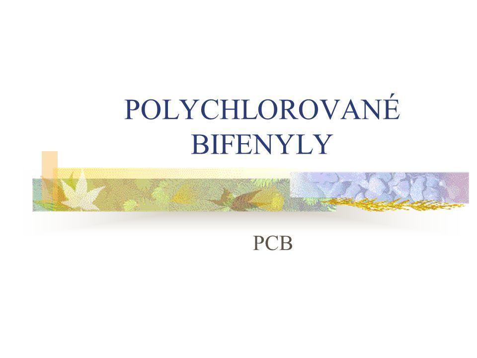 POLYCHLOROVANÉ BIFENYLY PCB
