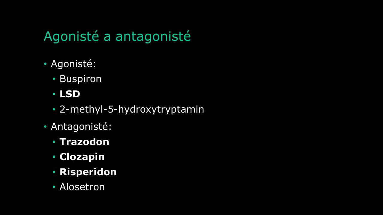 Etiopatogeneze onemocnění lidského těla Serotoninový syndrom Drogová závislost