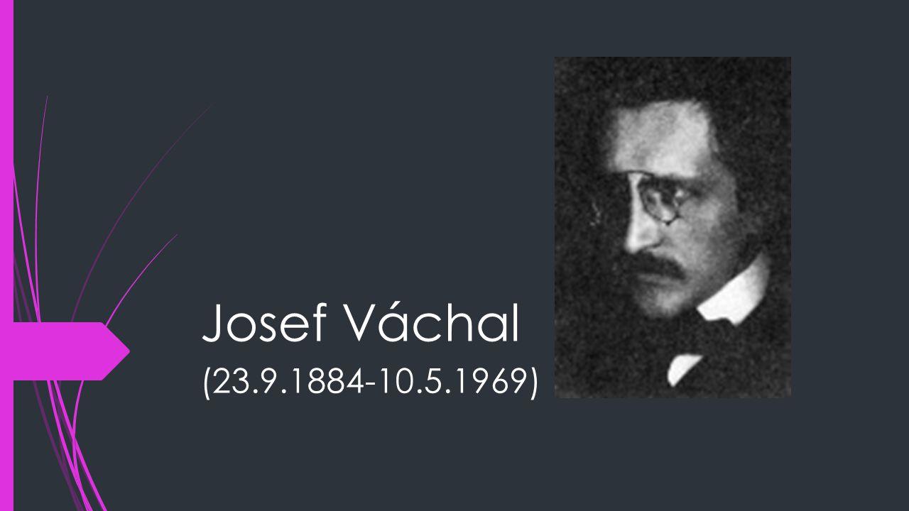 Josef Váchal (23.9.1884-10.5.1969)
