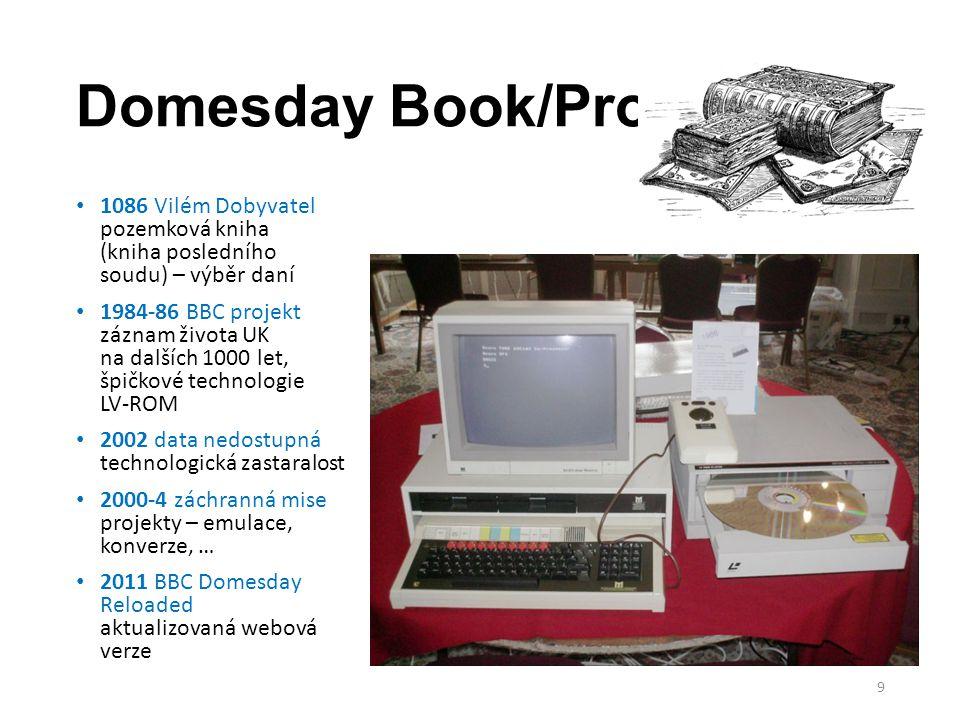 Domesday Book/Project 1086 Vilém Dobyvatel pozemková kniha (kniha posledního soudu) – výběr daní 1984-86 BBC projekt záznam života UK na dalších 1000