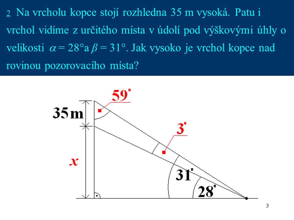 4 2 Kopec je vysoký přibližně 269 m.