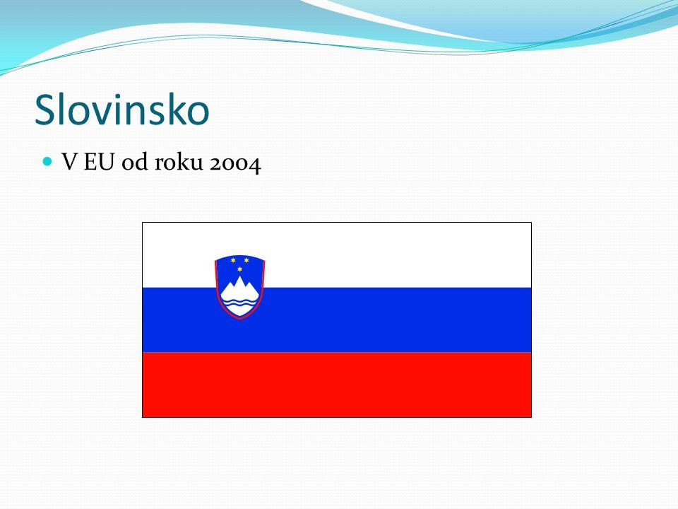 Slovinsko V EU od roku 2004