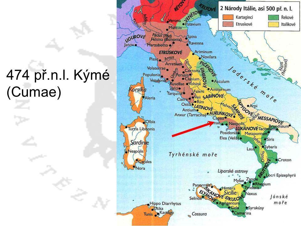 474 př.n.l. Kýmé (Cumae)